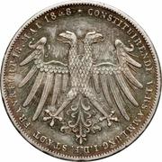 2 Gulden (Archiduc Jean-Baptiste d'Autriche) – avers