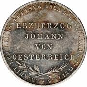 2 Gulden (Archiduc Jean-Baptiste d'Autriche) – revers