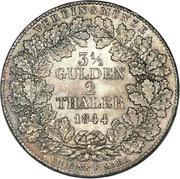 2 Thaler / 3½ Gulden – revers