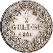 ½ Gulden – revers