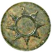 1 Pfennig -Francfort am Main – avers