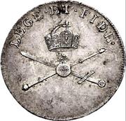 1¼ ducat (Frappe essai en argend; Couronnement imperial de Joseph II.) – revers