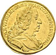 1 ducat Karl VII (couronnement) – avers