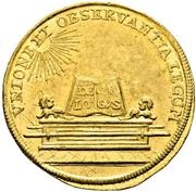 1 ducat Karl VII (couronnement) – revers