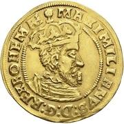 1 Goldgulden (Coronation) – avers