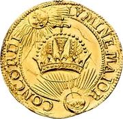 1 Ducat (Coronation) – revers