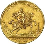5 Ducat (Coronation) – avers