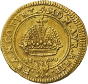 1 Goldgulden (Coronation – avers