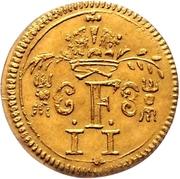 ½ Ducat (Coronation) – avers