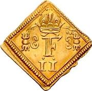 ½ Ducat (Coronation; Klippe) – avers