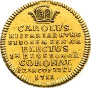 ¾ Ducat (Coronation) – avers