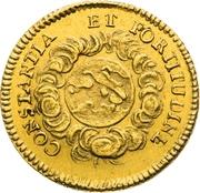 ¾ Ducat (Coronation) – revers