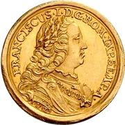 1 Ducat (Coronation) – avers