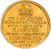 1¼ Ducat (Coronation) – avers