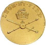 1¼ Ducat (Coronation) – revers