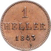1 Heller – revers