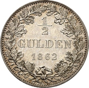 ½ Gulden – revers