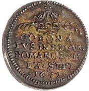 ½ Ducat (Coronation) – revers