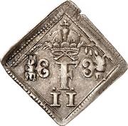 ½ Ducat (Coronation; Klippe; Silver pattern strike) – avers