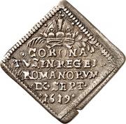½ Ducat (Coronation; Klippe; Silver pattern strike) – revers