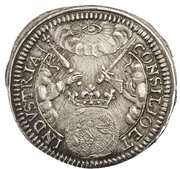½ Ducat (Silver pattern strike; Coronation) – revers