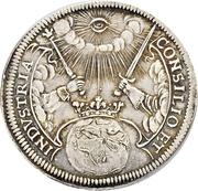 2 Ducat (Silver pattern strike; Coronation) – revers