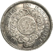 1¼ Ducat (Silver pattern strike; Coronation) – revers