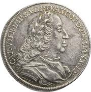 1 Ducat - Karl VII. (Silver pattern strike; Coronation) – avers