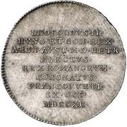 ¾ Ducat (Silver pattern strike; Coronation) – avers