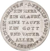 1 Ducat (Silver pattern strike; Reformation) – avers
