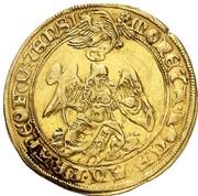 1 goldgulden (Couronnement) – revers
