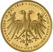 2 gulden (Frappe essai en or) – avers