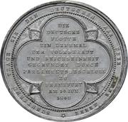 Medal - Founding of the German fleet at Frankfurt – revers