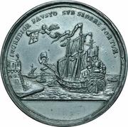 Arrivée de Charles VI a Francfort pour recevoir son entronement  d´Empereur du Saint-Empire – revers