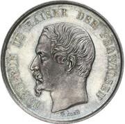 2 Thaler - Napoleon III (Pattern) – avers