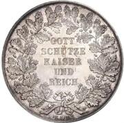 2 Thaler - Napoleon III (Pattern) – revers