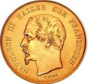 2 Thaler - Napoleon III (Gold Pattern) – avers