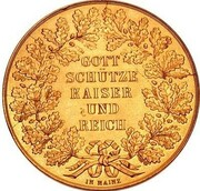 2 Thaler - Napoleon III (Gold Pattern) – revers