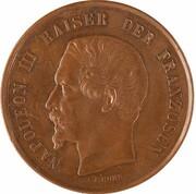 Médaille - Hommage de la ville de Frankfort à Napoleon III – avers