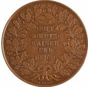 Médaille - Hommage de la ville de Frankfort à Napoleon III – revers
