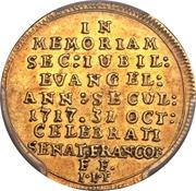 1 Dukat (Bicentenaire de la Réformation) – avers