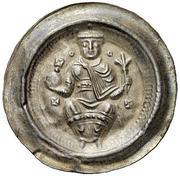 1 brakteat Friedrich I. (Wetterau) – avers