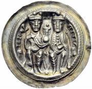 1 Brakteat - Heinrich VI. von Hohenstaufen – avers