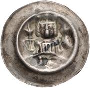 1 Brakteat - Rudolf von Habsburg – avers