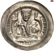 1 Brakteat - Heinrich VI -  avers