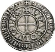 1 Tournose Groschen - Karl IV. von Luxemburg – avers