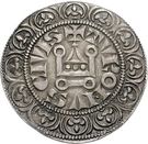 1 Tournose Groschen - Karl IV. von Luxemburg – revers