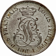 10 centimes - Louis-Philippe I – avers