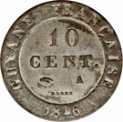 10 centimes - Louis-Philippe I – revers