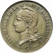 20 centimes (Essai) – avers